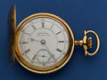"Timepieces:Pocket (post 1900), Columbus Watch Co. ""Railway King"" 17 Jewel Hunter's Case Pocket Watch. ..."
