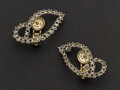 Estate Jewelry:Earrings, Cartier Vintage Platinum Earring Settings With Patented Clips. ...
