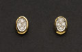 Estate Jewelry:Earrings, Gold & Diamond Stud Earrings. ...