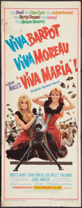 "Movie Posters:Adventure, Viva Maria! (United Artists, 1966). Insert (14"" X 36""). Adventure....."