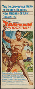 "Movie Posters:Adventure, Tarzan the Magnificent (Paramount, 1960). Insert (14"" X 36"").Adventure.. ..."