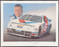 Miscellaneous Collectibles:General, Mark Martin Signed Lithograph....
