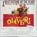 "Movie Posters:Academy Award Winners, Oliver! (Columbia, 1969). Six Sheet (81"" X 81"") Academy AwardsStyle. Musical.. ..."