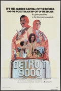 "Movie Posters:Blaxploitation, Detroit 9000 (General Film, 1973). One Sheet (27"" X 41""). Blaxploitation.. ..."