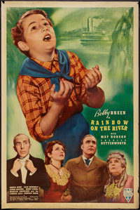 """Rainbow on the River (RKO, 1936). Poster (40"""" X 60""""). Gelatin Photo Style. Musical"""