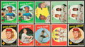 Baseball Cards:Lots, 1959 Topps Baseball Collection With Stars (750). ...