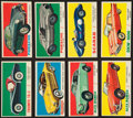 "Non-Sport Cards:Sets, 1961 Topps ""Sports Cars"" Collection (63). ..."