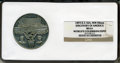 Expositions and Fairs, 1893 Illinois Discovery Of America, World's Columbian ExpositionMedal MS61 NGC. E-36A, WM 58 mm....