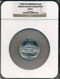 Expositions and Fairs, (1909) New York Hudson-Fulton Celebration Medal MS64 NGC. Aluminum,51mm....