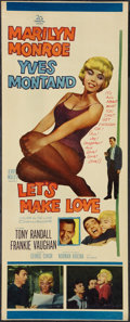 """Movie Posters:Comedy, Let's Make Love (20th Century Fox, 1960). Insert (14"""" X 35""""). Comedy.. ..."""