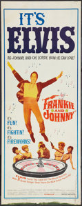 "Movie Posters:Elvis Presley, Frankie and Johnny (United Artists, 1966). Insert (14"" X 36""). Elvis Presley.. ..."