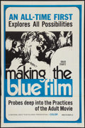 """Movie Posters:Adult, Making the Blue Film (National Adult Film Alliance, 1971). One Sheet (27"""" X 41""""). Adult.. ..."""