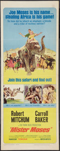 "Movie Posters:Adventure, Mister Moses (United Artists, 1965). Insert (14"" X 36"").Adventure.. ..."