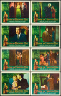 "Movie Posters:Horror, House on Haunted Hill (Allied Artists, 1959). Lobby Card Set of 8(11"" X 14""). Horror.. ... (Total: 8 Items)"