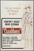 """Movie Posters:Academy Award Winners, Casablanca (United Artists, R-1970s). Argentinean Poster (29"""" X 43""""). Academy Award Winners.. ..."""