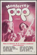 "Movie Posters:Rock and Roll, Monterey Pop (Leacock-Pennebaker, 1969). Argentinean Poster (29"" X43""). Rock and Roll.. ..."
