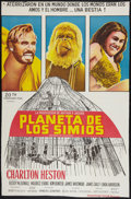 "Movie Posters:Science Fiction, Planet of the Apes (20th Century Fox, 1968). Argentinean Poster(27"" X 41""). Science Fiction.. ..."