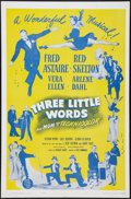 """Movie Posters:Musical, Three Little Words (MGM, R-1963). One Sheet (27"""" X 41""""). Musical.. ..."""