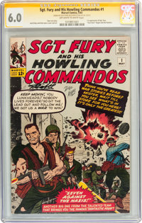 Sgt. Fury and His Howling Commandos #1 Signature Series (Marvel, 1963) CGC FN 6.0 Off-white to white pages