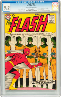 The Flash #105 (DC, 1959) CGC NM- 9.2 Cream to off-white pages