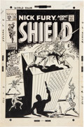 Original Comic Art:Covers, Herb Trimpe and Sam Grainger Nick Fury Agent of S.H.I.E.L.D.#13 Nick Fury vs. The Super-Patriot Cover Original Ar...