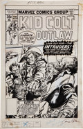 Original Comic Art:Covers, Gene Colan and Tom Palmer Kid Colt Outlaw #223 CoverOriginal Art (Marvel, 1978)....