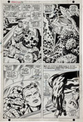 Original Comic Art:Panel Pages, Jack Kirby and Joe Sinnott Fantastic Four #76 Page 13Original Art (Marvel, 1968)....