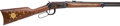 Long Guns:Lever Action, Boxed Winchester Chief Crazy Horse Commemorative Model 1894 LeverAction Rifle....