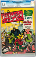 Golden Age (1938-1955):Superhero, Star Spangled Comics #17 Mile High pedigree - Double Cover (DC, 1943) CGC NM+ 9.6 White pages....