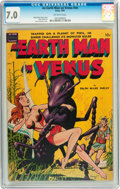 Golden Age (1938-1955):Science Fiction, An Earth Man on Venus #nn (Avon, 1951) CGC FN/VF 7.0 Off-whitepages....
