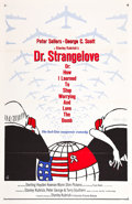 "Movie Posters:Comedy, Dr. Strangelove or: How I Learned to Stop Worrying and Love theBomb (Columbia, 1964). One Sheet (27"" X 41"") Flat Folded Day..."