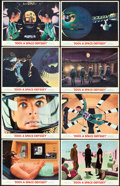 "Movie Posters:Science Fiction, 2001: A Space Odyssey (MGM, 1968). Lobby Card Set of 8 (11"" X14"").. ... (Total: 8 Items)"