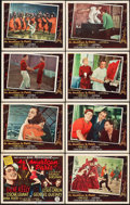 "Movie Posters:Musical, An American in Paris (MGM, 1951). Lobby Card Set of 8 (11"" X 14"")..... (Total: 8 Items)"