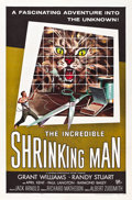 "Movie Posters:Science Fiction, The Incredible Shrinking Man (Universal International, 1957). MPPGraded One Sheet (27"" X 41"").. ..."