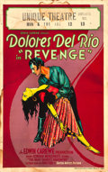 "Movie Posters:Romance, Revenge (United Artists, 1928). Window Card (14"" X 22"").. ..."