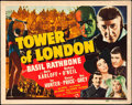 """Movie Posters:Horror, Tower of London (Universal, 1939). Title Lobby Card (11"""" X 14"""").. ..."""