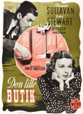 "Movie Posters:Comedy, The Shop Around the Corner (MGM, 1947). First Release Danish Poster(24.5"" X 33.5"").. ..."