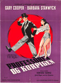 """Movie Posters:Comedy, Ball of Fire (Samuel Goldwyn, 1947). First Release Danish Poster(24"""" X 33"""").. ..."""