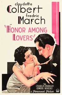 """Honor Among Lovers (Paramount, 1931). One Sheet (27"""" X 41"""")"""