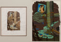 Animation Art:Production Drawing, The Old Mill Illustration Original Art (Disney, undated)....
