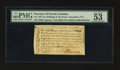 Colonial Notes:North Carolina, North Carolina December, 1771 2s6d House PMG About Uncirculated 53 EPQ.. ...