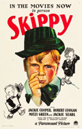 "Movie Posters:Comedy, Skippy (Paramount, 1931). One Sheet (27"" X 41"").. ..."
