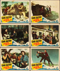 """Movie Posters:Western, Radio Ranch (Mascot, R-1940). Lobby Cards (6) (11"""" X 14"""").. ... (Total: 6 Items)"""