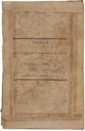 Miscellaneous:Booklets, Mirabeau B. Lamar. Address of His Excellency Mirabeau B. Lamarto the Citizens of Santa Fe....