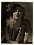 "Movie Posters:Photo, Thelma Todd by George Hurrell (MGM, Early 1930s). Portrait Photo(10"" X 13"").. ..."