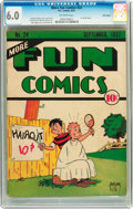 Platinum Age (1897-1937):Miscellaneous, More Fun Comics #24 Billy Wright pedigree (DC, 1937) CGC FN 6.0Off-white pages....