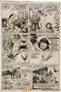 Original Comic Art:Panel Pages, Gil Kane and Tom Sutton Giant-Size Conan #3 Page 11 OriginalArt (Marvel, 1975)....