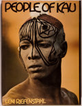 Books:Photography, Leni Riefenstahl. The People of Kau. New York: Harper & Row, [1976]. First American edition, first printing. Quarto....