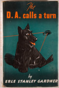Books:Mystery & Detective Fiction, Erle Stanley Gardner. The D. A. Calls a Turn. London:Cassell, [1947]. First English edition. Octavo. [190] pages. P...