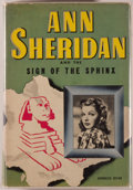 Books:Mystery & Detective Fiction, [Ann Sheridan]. Kathryn Heisenfelt. Ann Sheridan and the Sign ofthe Sphinx. An original story featuring ANN SHERI...
